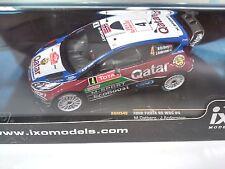 FORD FIESTA RS WRC #4 OSTBERG MC 2013 1:43 IXO RALLYE-DIECAST-RAM540