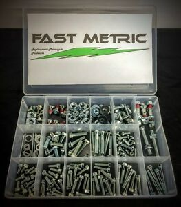 250pc Kawasaki kx DIRT BIKE BOLT KIT FOR MAINTAINING & REPLACING LOST BOLTS