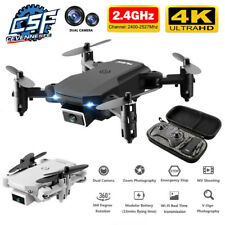 2020 New Mini Drone WiFi Fpv 4K HD Duel Camara Good Battery Helicopter Drone