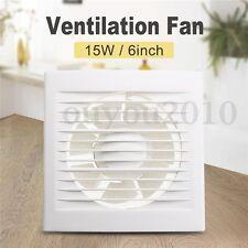 "6"" Ventilation Extractor Exhaust Fan Blower Window Wall Kitchen Bathroom Toilet"