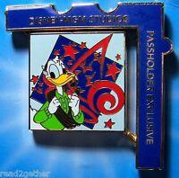 Disney Pin WDW Passholder Exclusive Disney MGM Studios 2006 Donald Duck