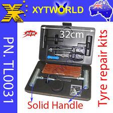 TL0031 Tyre Tire Puncture Repair Plug Kit Valve Tool Car Motor bike ATV Quad 4x4