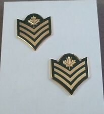 Canada - Canadian Forces Sergeant Rank Insignia Pair - Long Shank