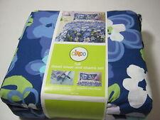 Circo Blossom Birdhouse Full Duvet Cover and Shams Set 3pcs NIP Blue Floral