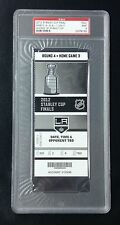 LOS ANGELES KINGS 2012 STANLEY CUP CLINCHING GAME 6 TICKET STUB PSA MINT 9!