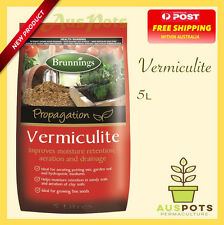 Brunnings Vermiculite 5L - for Terrarium or Orchids.