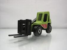 Diecast Matchbox Fork Lift Truck 1977 Green Good Condition