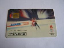 telecarte bose patinage artistique 50u ref phonecote F216