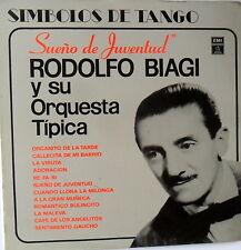 RODOLFO BIAGI Y SU ORQUESTA TIPICA-SUEÑOS DE JUVENTUD-SIMBOLOS DE TANGO SALE SAL