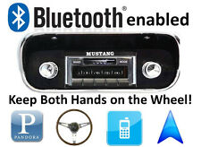 Bluetooth Enabled 1967-1973 Ford Mustang 300 watt AM FM Stereo Radio iPod, USB