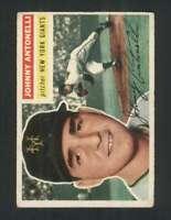1956 Topps #138 Johnny Antonelli VGEX NY Giants 94621