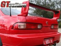 For CARBON FIBER BLADE 94-01 INTEGRA TYPE-R DC2 3-PCS REAR WING TRUNK SPOILER