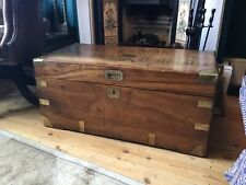 More details for 19th century camphor wood campaign chest