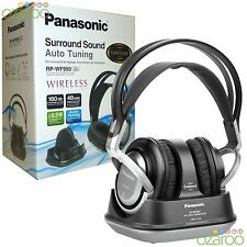 Panasonic Wireless DJ Style Cuffie Over-Ear con audio surround-Argento