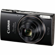 Canon PowerShot ELPH 360 HS Digital Camera (Black) 1075C001