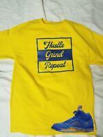 Tshirt Match Jordan 5 JSP Laney Varsity Royal - Hustle Grind shirt