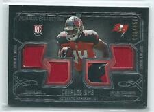 2014 Topps Museum Colection Charles Sims QUAD 4 JERSEY / PATCH RELIC RC 66/150