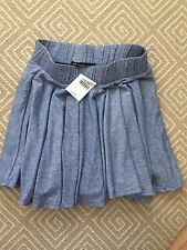 Un Deux Trois Girl's Blue Cullote Skirt Shorts  – Girls Size L (8- 10) -NWT
