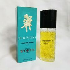 Je Reviens by Worth 4 oz / 120 ml cologne spray for women Rare Vintage