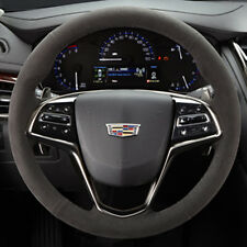 2015-2017 Cadillac ATS ATS-V Genuine GM Suede Steering Wheel 23316245
