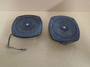 "Triumph TR7 TR8 ** Radio Speaker Radiomobile ** Good grilles, 5"" / 120mm approx"
