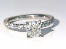 GIA 1.62ct. Cushion cut diamond ring 18kt H/VS +