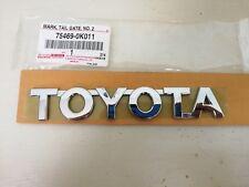 TOYOTA HILUX Genuine Parts Original LOGO Decal Emblem Badge CHROME 3D