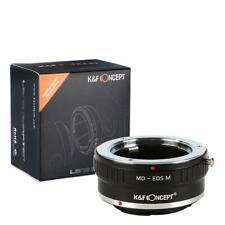 K&F Adapter, Minolta MD MC Objektive auf Canon EOS M Kamera M2 M3 M5 M6 M10 M100