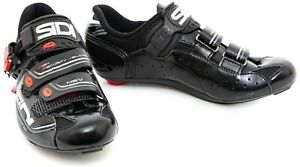 Sidi Women Genius 7 Carbon Road Bike Shoes EU 39 41 42 Black 3 Bolt Race