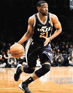 GFA  Utah Jazz  * IAN CLARK *  Signed 8x10 Photo C2 COA