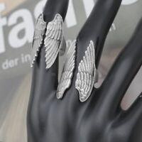 Flügel Ring Statement Engel Wings 925er Sterling Silber  Antike Silberringe r170