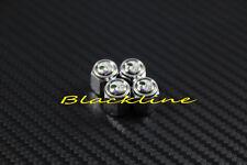 For Mercedes W202 W203 W204 W210 W211 W212 W176 CLA Metal Tire Valve Stem Caps