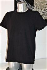 camiseta negra de manga corta HUGO BOSS naranja label talla XL EXCELENTE ESTADO