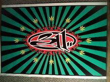 Rare Vintage 311 concert poster black light 23 x 35 year 1997
