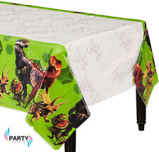 Jurassic World Party Supplies TABLE COVER Plastic 54 x 96 Inch