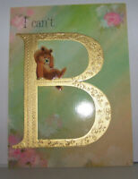 Vintage Greeting Card Hallmark I Can't B Bear Being Without You Trifold Hurry