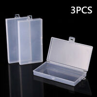Transparent Storage Box PP Jewelry Holder Rectangle Organizer Earrings