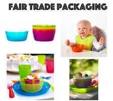 Ikea Kalas Children's Kids Plastic Bowls x 6 Party Picnic