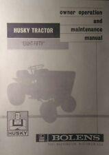 Bolens FMC Husky Eight-Fifty 850 Lawn Riding Garden Tractor Operators Manual 12p