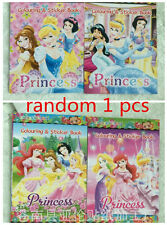 Princess Colouring Book / Drawing Book Back For Girl's gift (no Coloring pen) A+