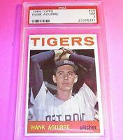 1964 Topps #39 Hank Aguirre, Detroit Tigers, PSA 7 NM NrMt