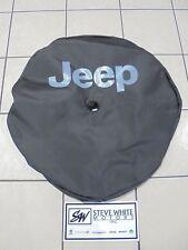 2018 Jeep Wrangler JL Black Vinyl Spare Tire Cover New Body Factory Mopar New