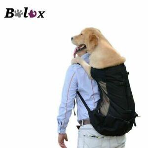 Dog Backpack Carrier Large Pet Bag Travel Adjustable Breathable Strap Waterproof