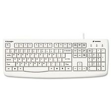 Kensington Washable USB/PS2 Keyboard with Antimicrobial Protection - 64406