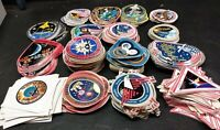 Lot of 16 NASA Space Shuttle Skylab & ISS Mission Decals Stickers MINT