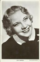Una Merkel Silent Film Hollywood Actress Movie Star 1930s Real Photo Postcard