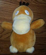 Vintage 1998 Pokemon Psyduck Cute Yellow Duck Duckie Stuffed Animal Plush Toy