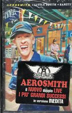 MUSICASSETTA AEROSMITH LITTLE SOUTH SANITY 2 MC NEW  MUSICAL CASSETTE NEW SEALED
