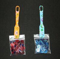BINGO Designer 2 Pack Magnetic Wands and 100 Chips each color Blue Orange