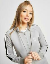 Gym King Womens Polyester Zip Retro Hoodie Designer Sweatshirt Sweater Hoody